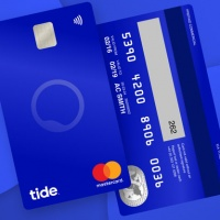 "The vertical debit card design reflecting ""how people bank today"""
