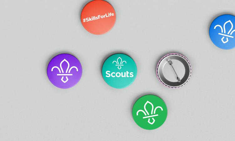 Los boy Scouts rediseño de logo