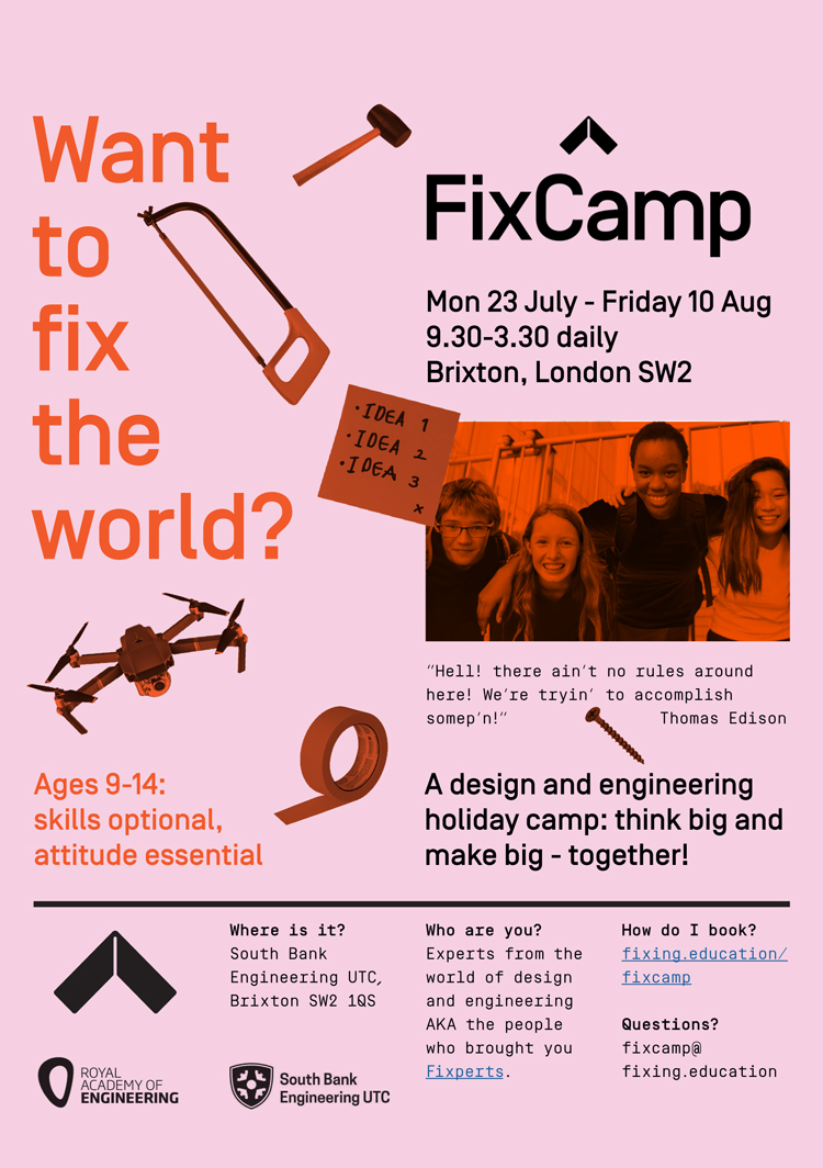 London summer camp looks to teach kids design and engineering skills