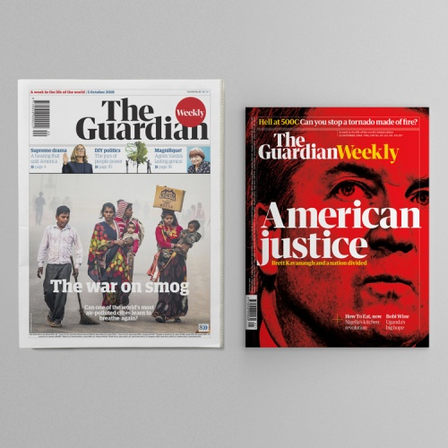 The Guardian Weekly Redesigns To Become A U201cglobalu201d News Magazine
