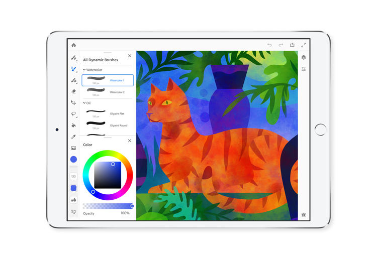 "Adobe's new painting app Gemini lets creatives be ""reckless"