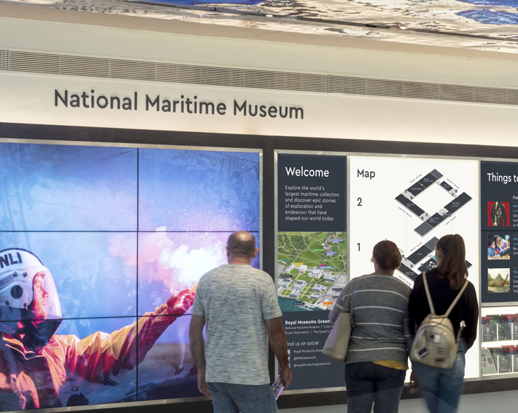 """New wayfinding system for National Maritime Museum helps visitors """"discover more"""""""