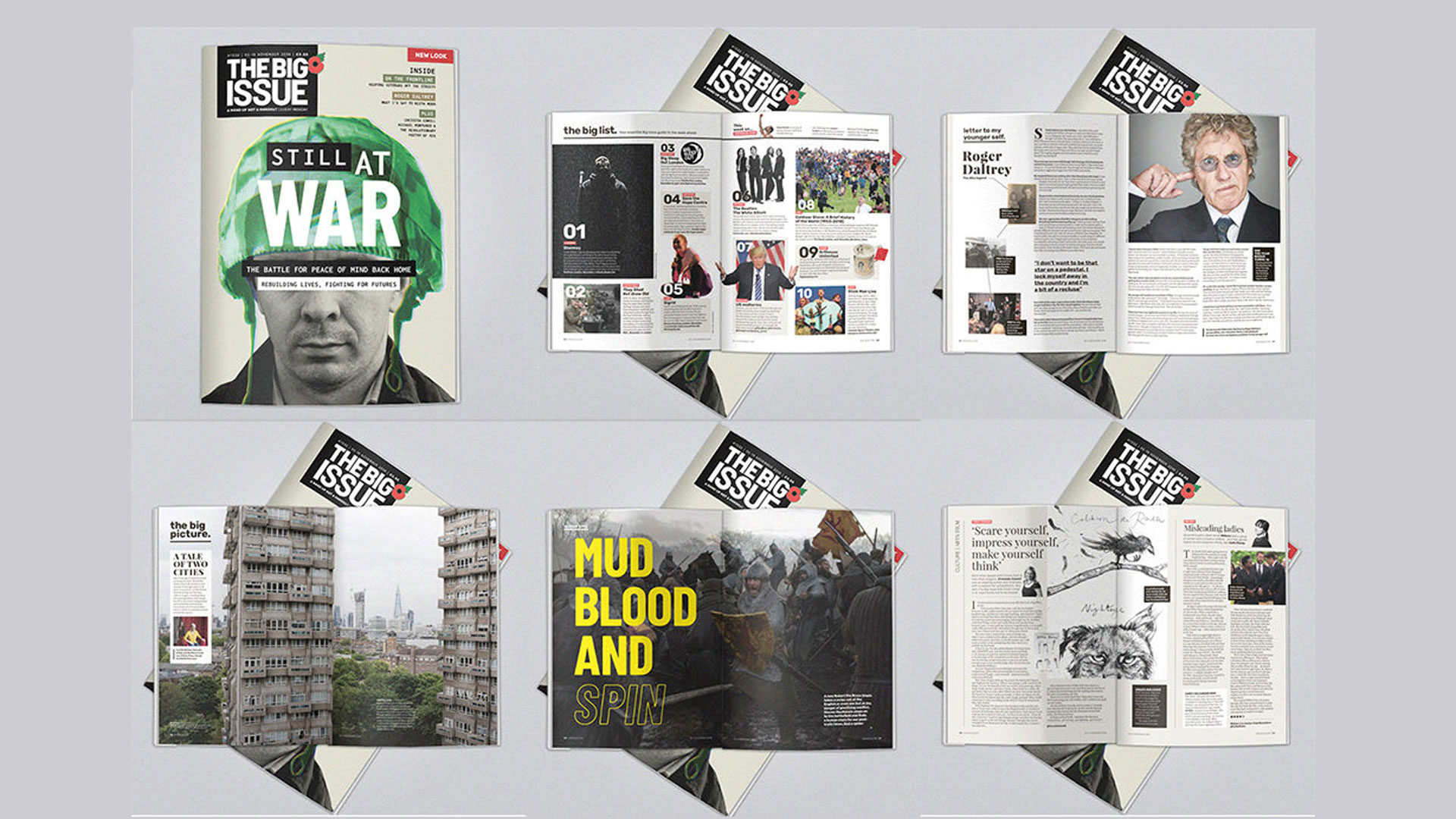 """Big Issue redesign: """"It's not just about the homeless – it's also about culture"""""""
