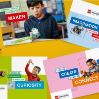 """New look for Lego Education aims to capture a """"sense of curiosity"""""""
