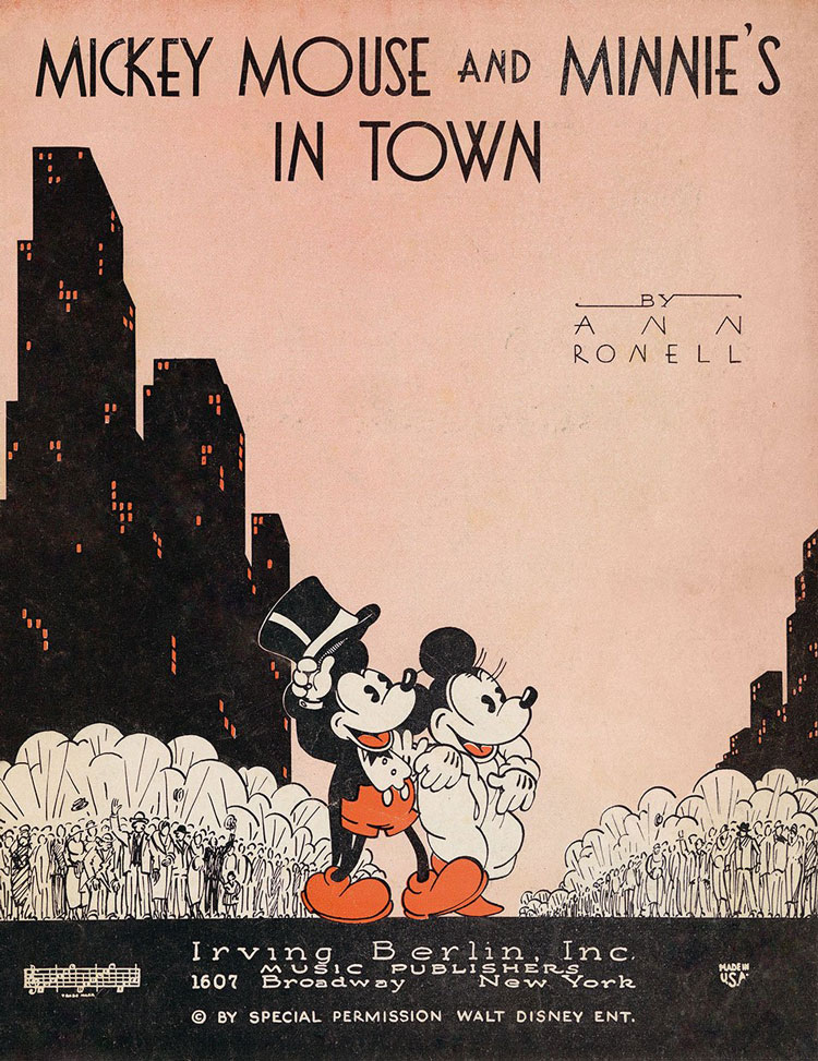 Mickey mouse рост