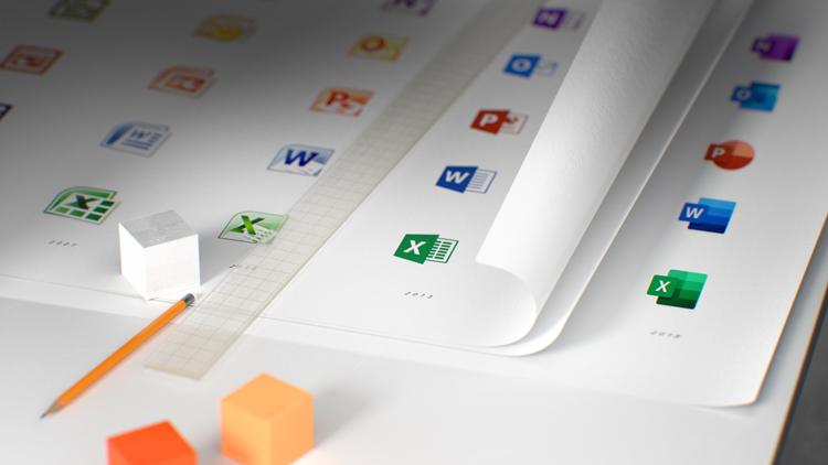Microsoft Office rediseña el aspecto de sus íconos
