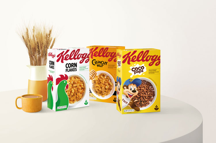 """Contemporary"" redesign for Kellogg's looks to make it ""instantly recognisable"""