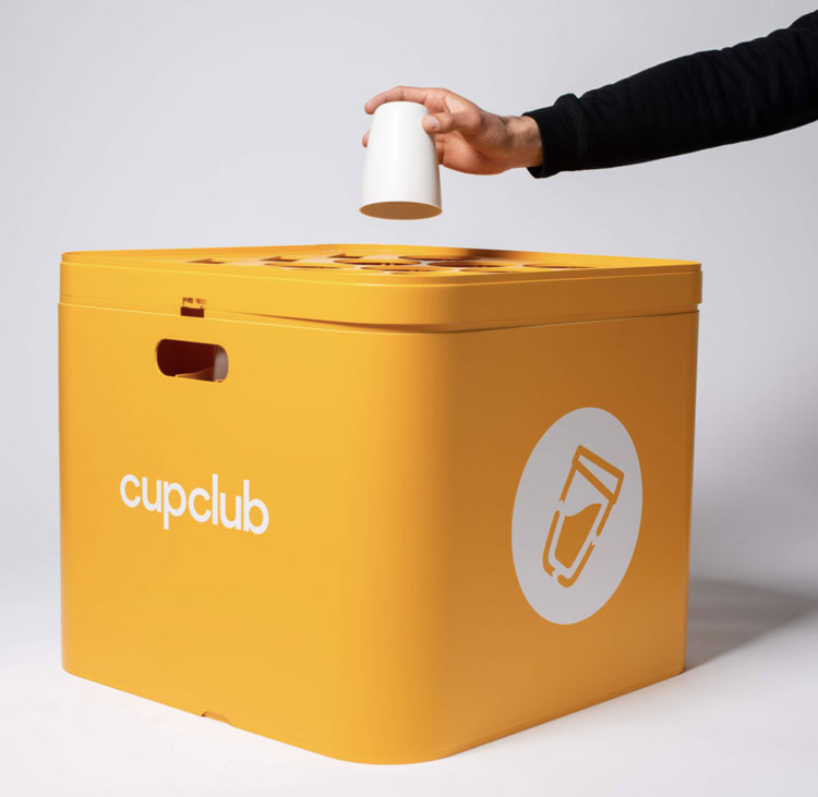 The designs that could be eco-friendly alternatives to disposable cups