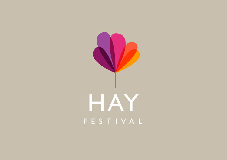 """New Hay Festival branding looks to capture event's """"growth"""" and """"utopian"""" spirit"""