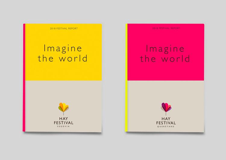 "New Hay Festival branding looks to capture event's ""utopian"
