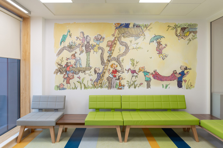 Sheffield Children's Hospital fills new wing with Quentin Blake artwork