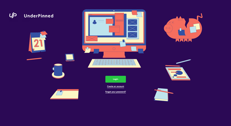 Underpinned: a freelancers' hub for everything from emails to invoices
