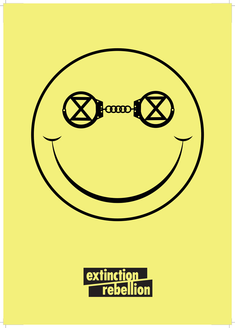 """How Extinction Rebellion designed """"angry but peaceful"""