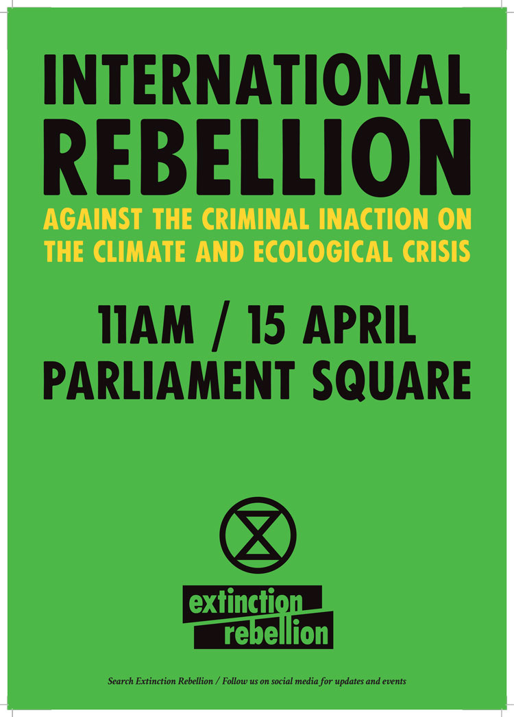"How Extinction Rebellion designed ""angry but peaceful"