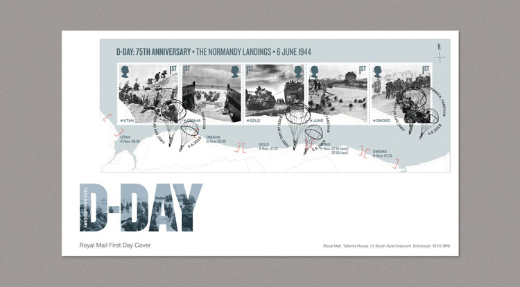 D-Day 75th Anniversary Stamp Presentation Pack 2019