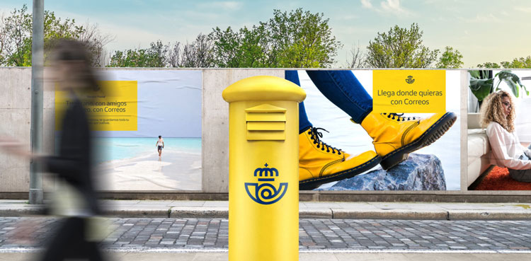 Spain's 300-year-old postal service gets a rebrand