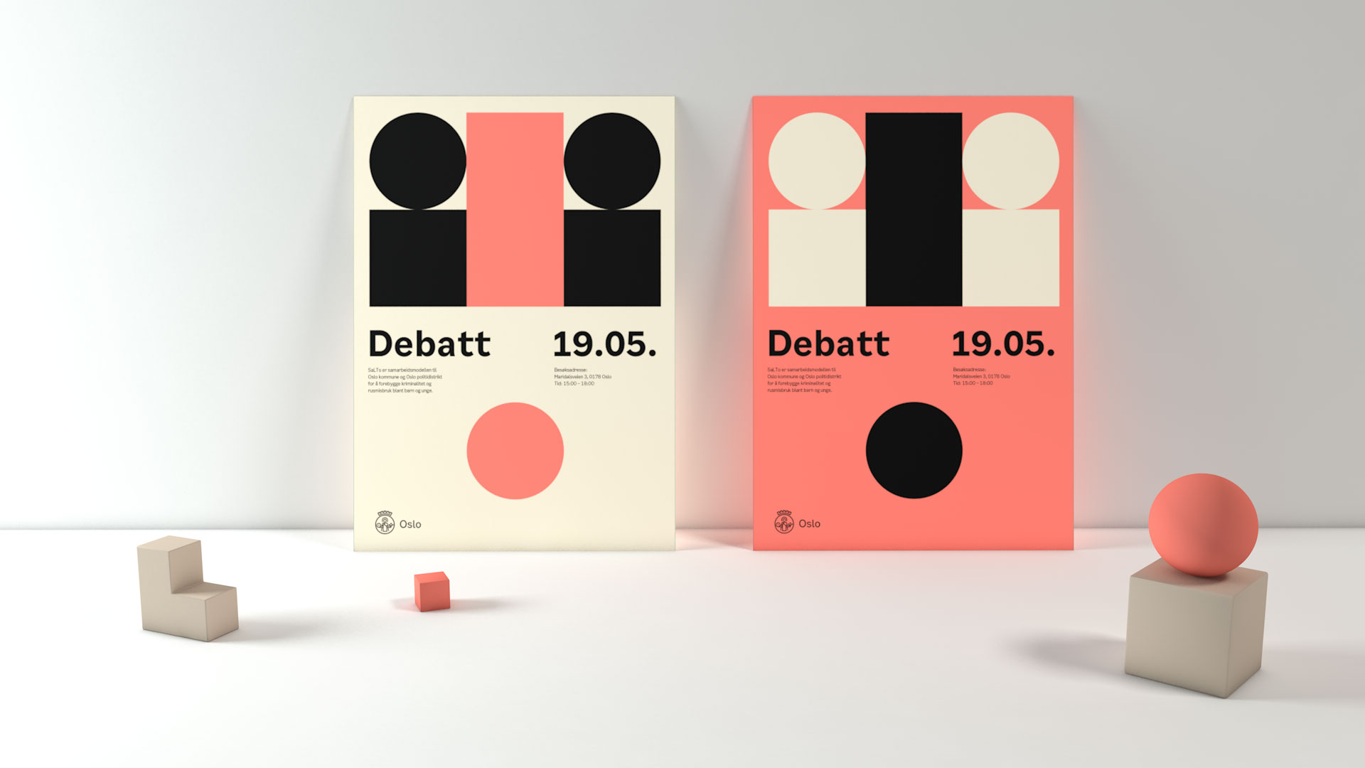 Oslo's new identity is inspired by shapes of the city