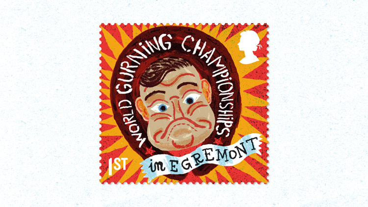 """Royal Mail reveals stamp series which celebrates """"curious"""" UK customs"""