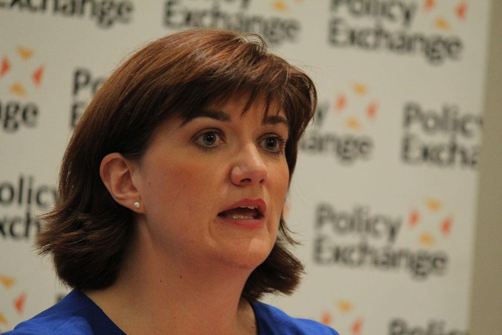 Nicky Morgan named as new culture secretary