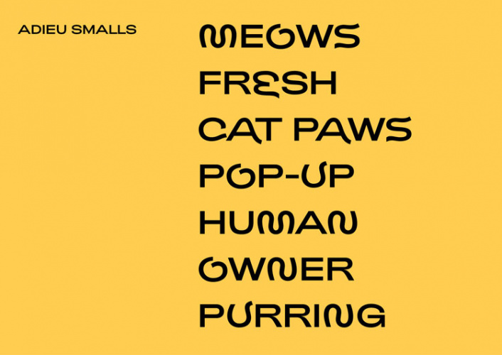 The world's first cat-inspired font