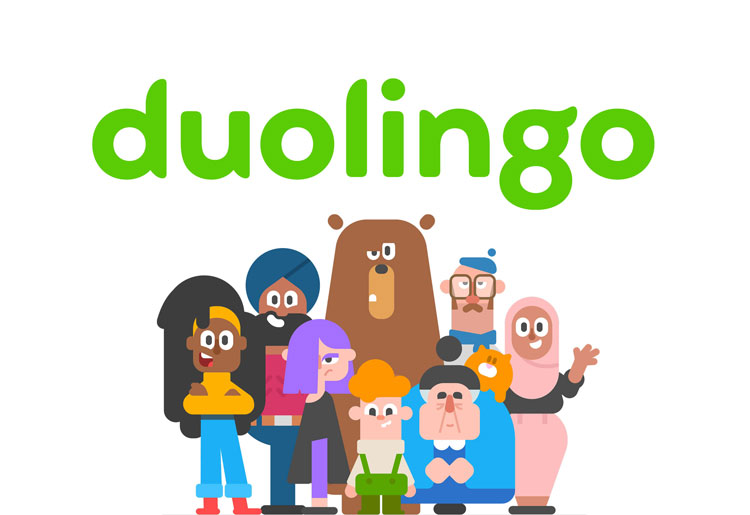 """Duolingo rebrand avoids Silicon Valley tropes and reflects company's """"quirky personality"""""""