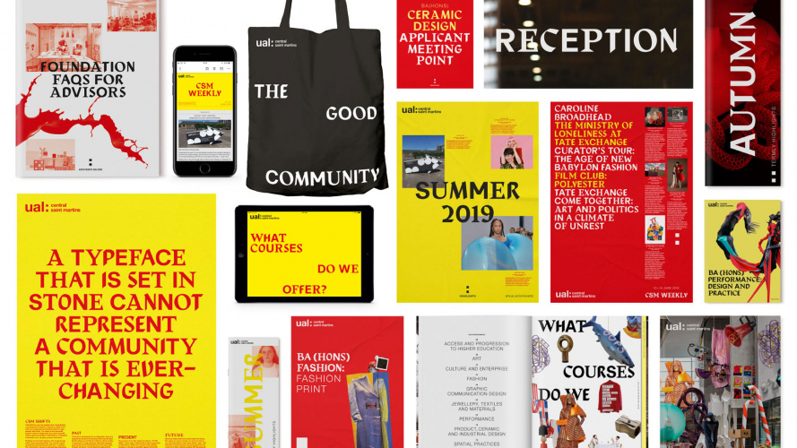 Central Saint Martins Identity Is Boisterous Anarchic And