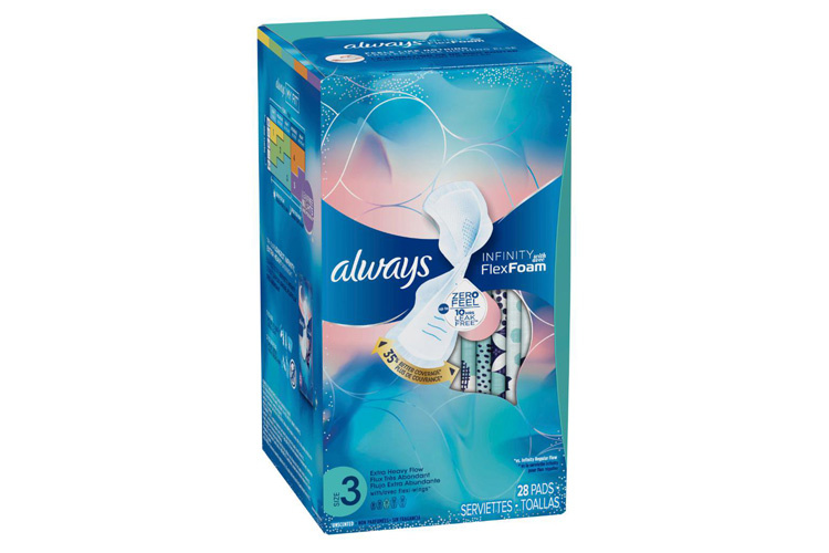 Tampon-packaging