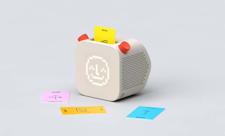 Pentagram designs a screen-free audio platform which puts kids in control