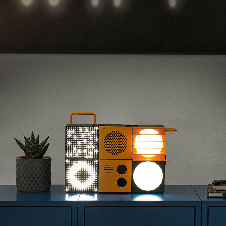 Ikea launches build-your-own party electronics   Design Week