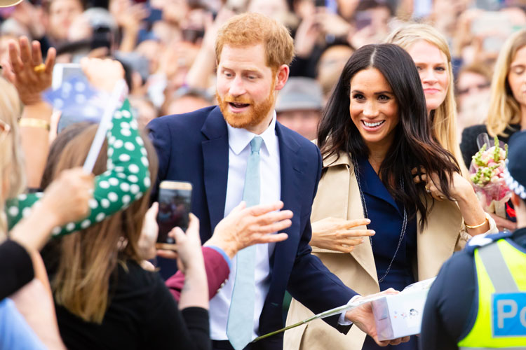 Designers discuss Harry and Meghan's royal ban and branding