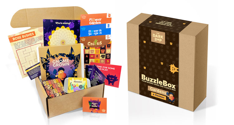 The Buzzle Box, from The Dark Imp