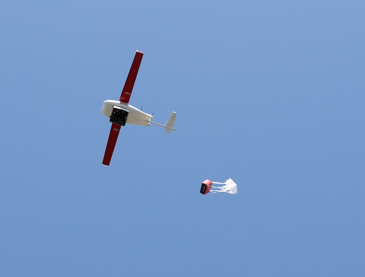 An emergency drone service has launched to deliver medical supplies