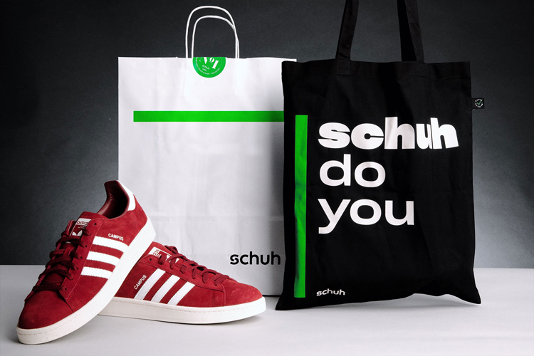 Schuh's new visual identity aims to put people first