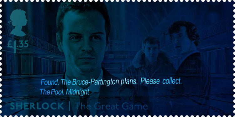sherlock stamps royal mail