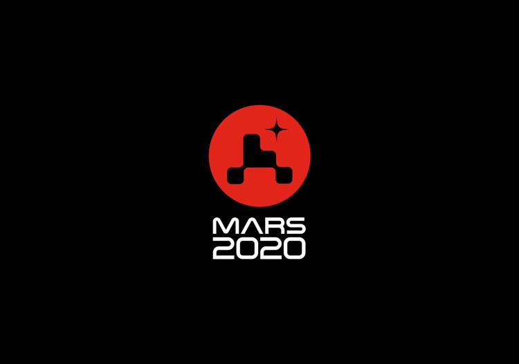 mars 2020 nasa logo