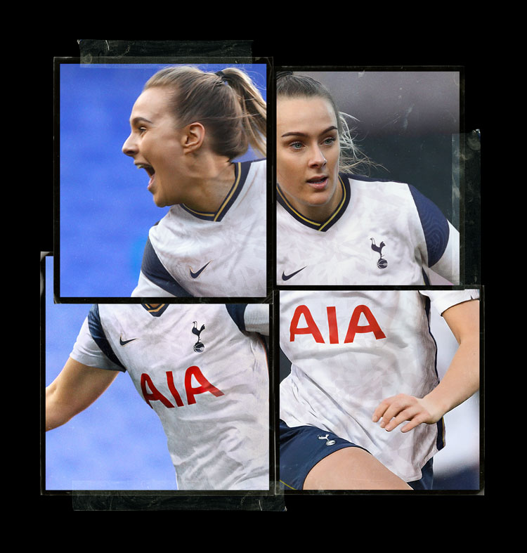 spurs womens home kit 2020/21