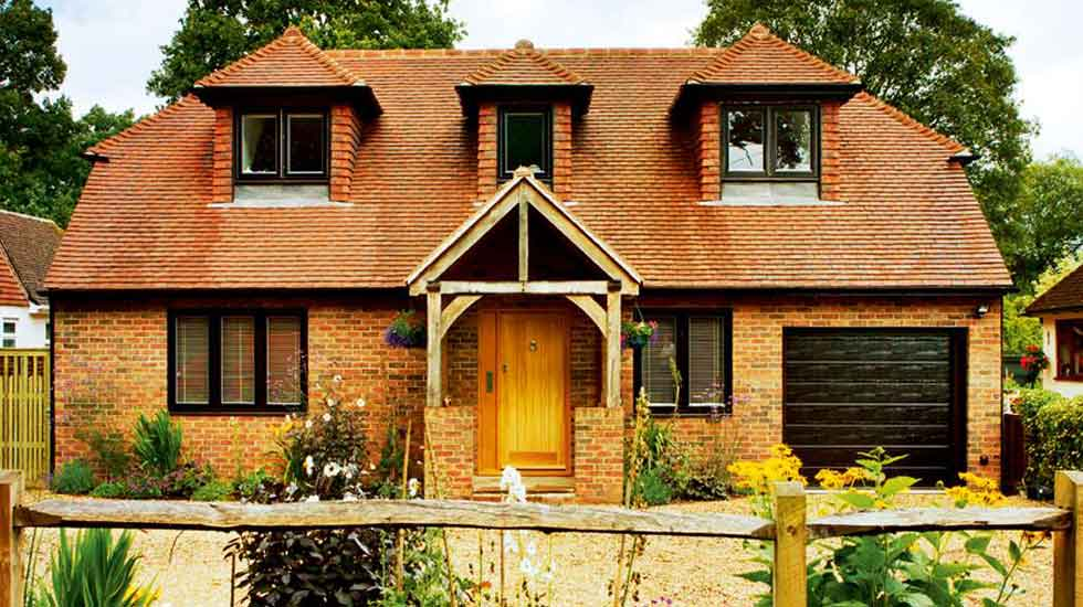 Custom build brick and block cottage