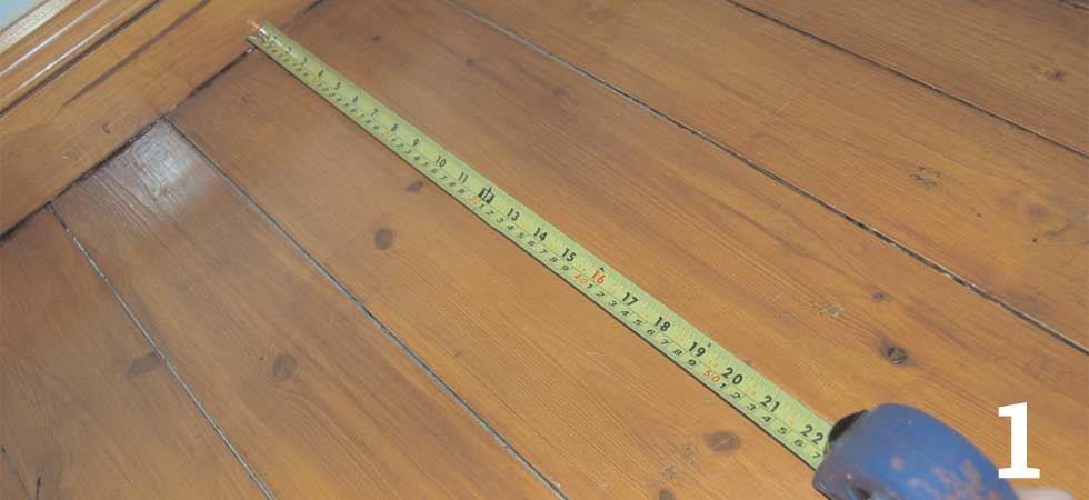 For non-sloping ceilings you can get a pretty accurate area measurement of the ceiling by measuring the floor