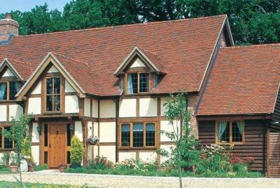 Traditional Oak Frame house