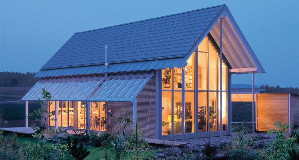 Off site kit houses a greener build homebuilding for Eco home kits