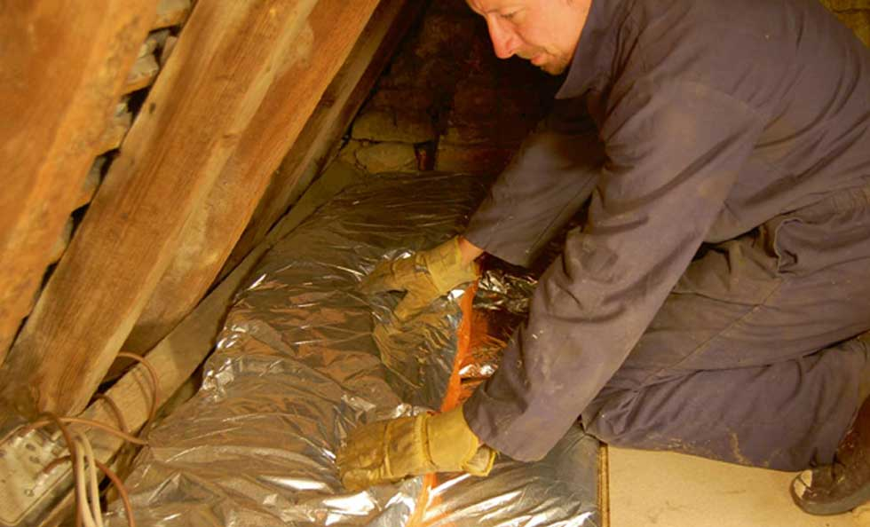 Insulating Old Homes Homebuilding  Renovating - Insulating exterior walls in old homes