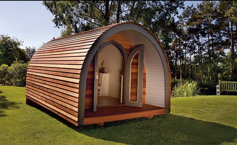 How to add a garden office homebuilding renovating for Garden office and shed