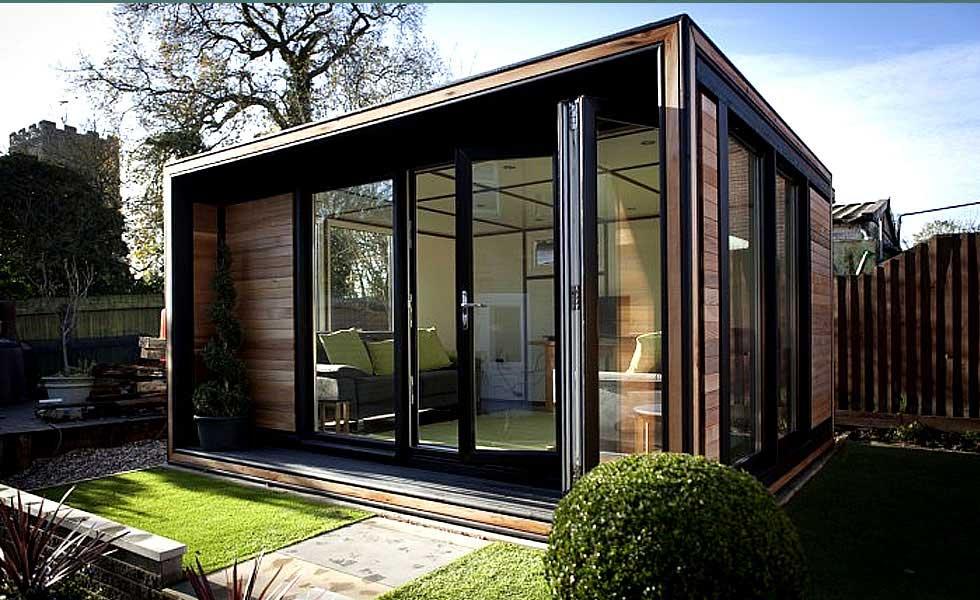 trio ultra garden office from Smart Garden Offices
