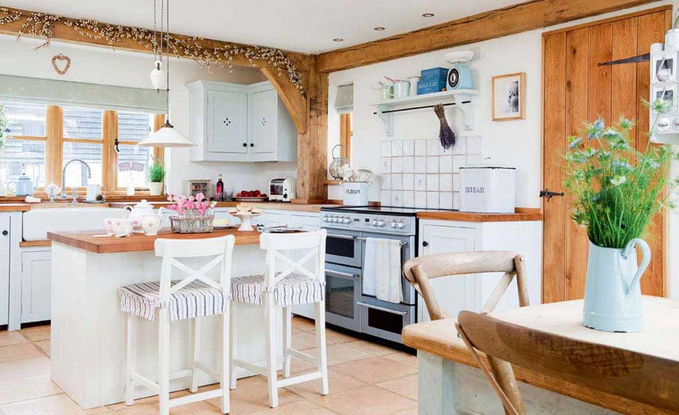 25 Country Style Kitchens