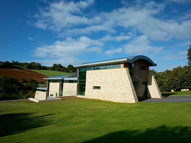 Winner of the best Eco Home category in the Homebuilding and Renovating Awards 2010