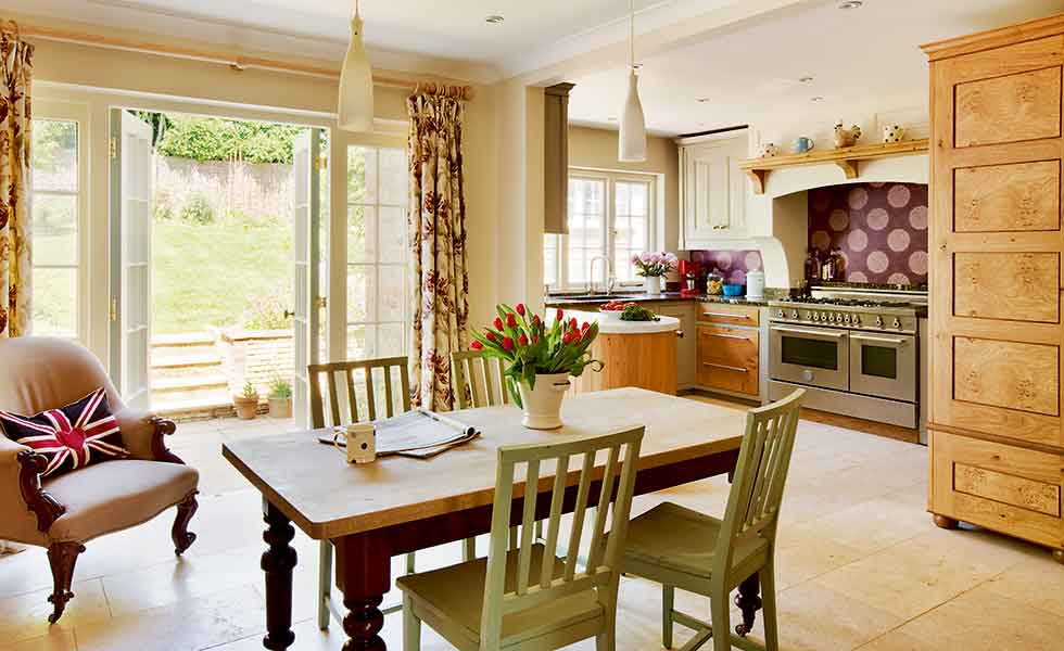 Open Plan Living Converts A Once Boxy Roomed Home. An Open Plan Kitchen  Diner ... Part 59