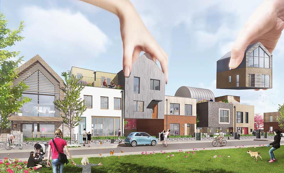 Heartlands custom build project in Cornwall