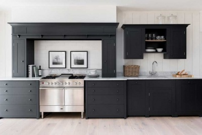 Kitstone Suffolk kitchen in Charcoal