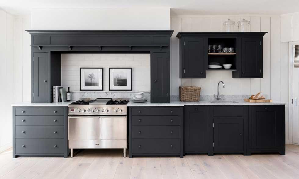 Kitstone Suffolk kitchen in Charcoal