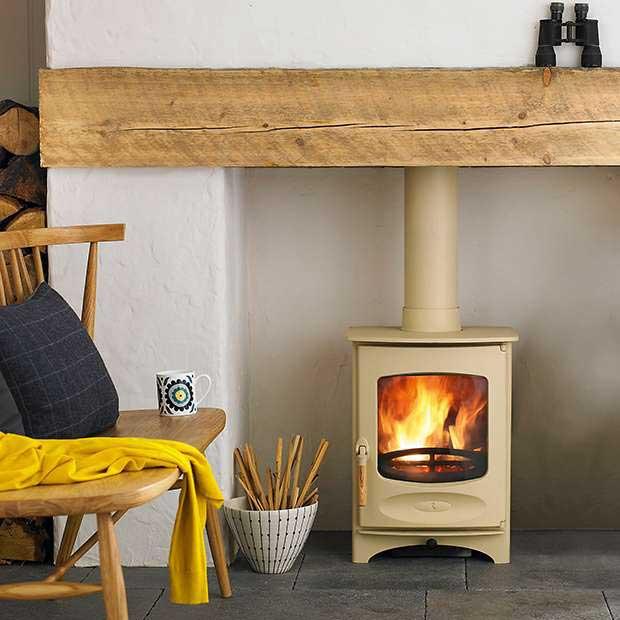 C-Four Woodburning Stove by Charnwood